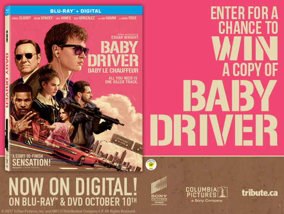 Baby Driver Blu-ray contest