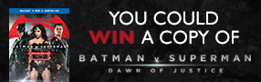Enter to win a copy of Batman V Superman: Dawn of Justice on Blu-ray  Poster
