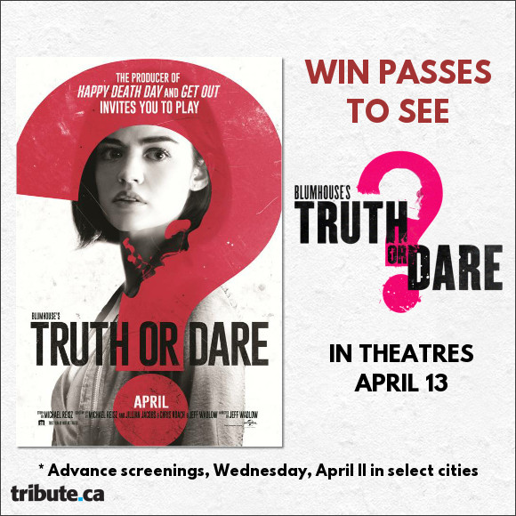 Blumhouse's Truth or Dare Pass contest