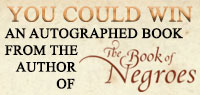 Win an autographed book from the author of The Book of Negroes