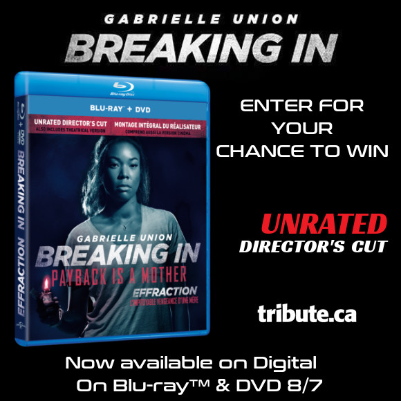 Breaking In Blu-ray contest