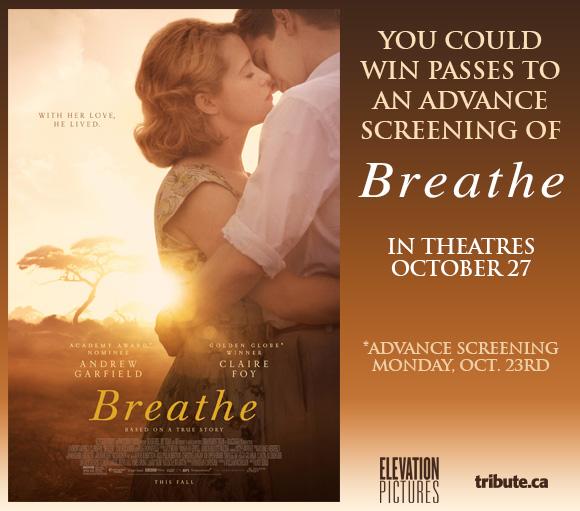 Breathe Advance Screening Pass contest