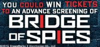 Win Advance Screening Passes to see Bridge of Spies