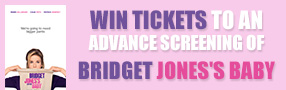 Win Advance Screening Passes to see Bridget Jones's Baby Poster