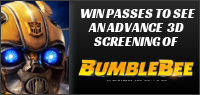 Enter for your chance to win passes to a 3D advance screening of