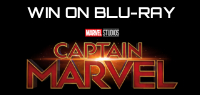"Enter for your chance to win ""CAPTAIN MARVEL"" on Blu-ray. On Digital May 28th. On Blu-ray June 11."
