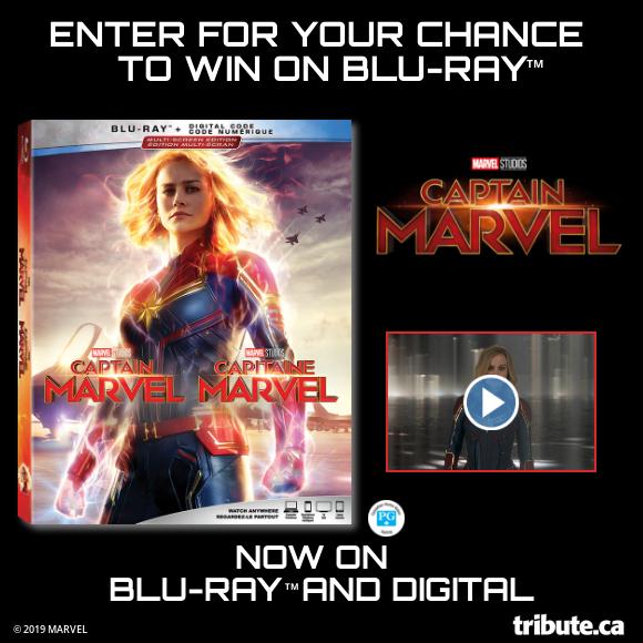 CAPTAIN MARVEL Blu-ray contest