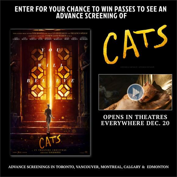 CATS Advance Screening Pass contest