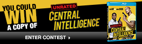 Enter to win a copy of Central Intelligence on Blu-ray™ Poster