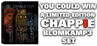 Win Limited Edition Chappie Blomkamp3 Set
