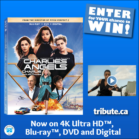 CHARLIE'S ANGELS Blu-ray contest