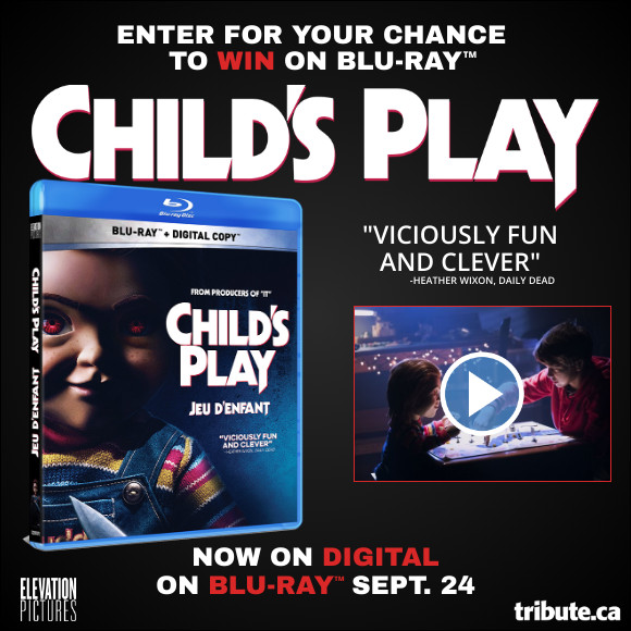 CHILD'S PLAY Blu-ray contest