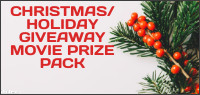 CHRISTMAS HOLIDAY BLU-RAY MOVIE PRIZE PACK Contest