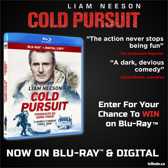 COLD PURSUIT Blu-ray contest
