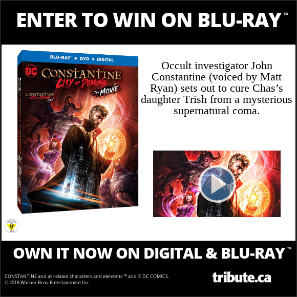 DC CONSTANTINE CITY OF DEMONS Blu-ray contest