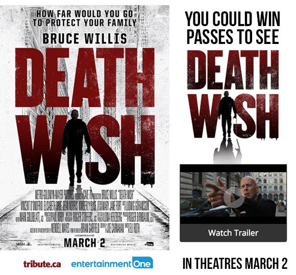 Death Wish Passes contest