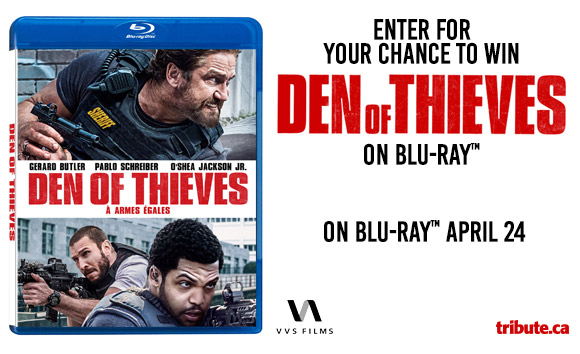 Den Of Thieves Blu-ray contest