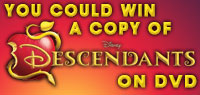 Enter to win one of ten copies of Descendants on DVD