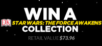 You could win a DK Star Wars: The Force Awakens Collection