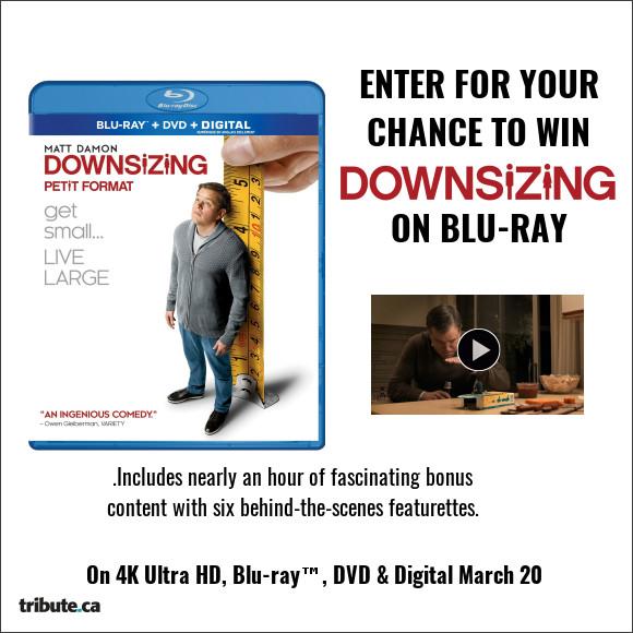 Downsizing Blu-ray contest