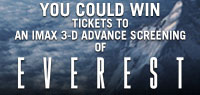Win Advance Screening Passes to see Everest in IMAX 3D