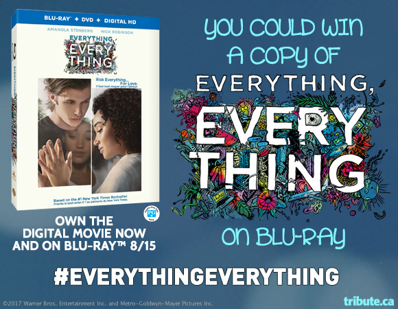 Everything Everything Blu-ray contest