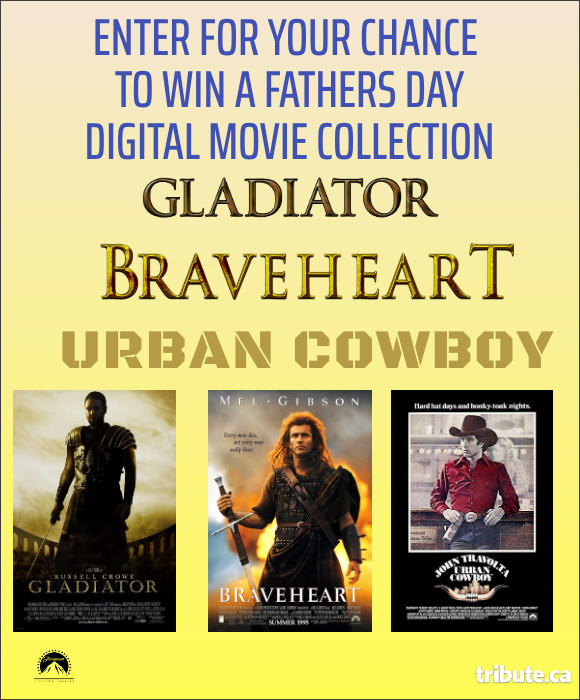 Enter to  Win a Father's Day Digital Bundle of 3 movies