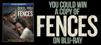 Enter to win a copy of Fences on Blu-ray
