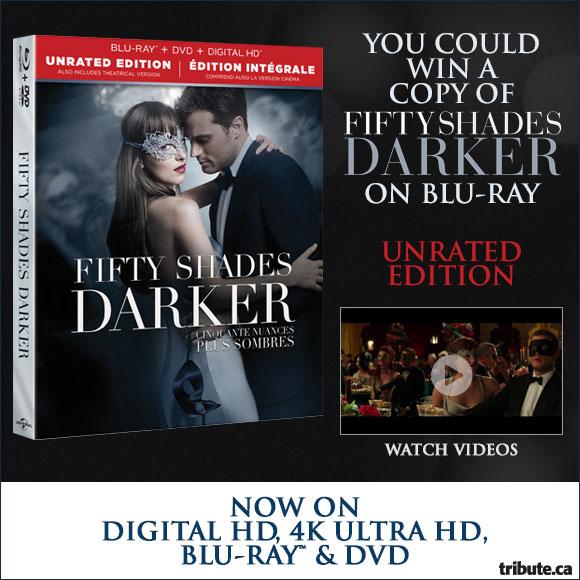 Fifty Shades Darker Blu-ray contest