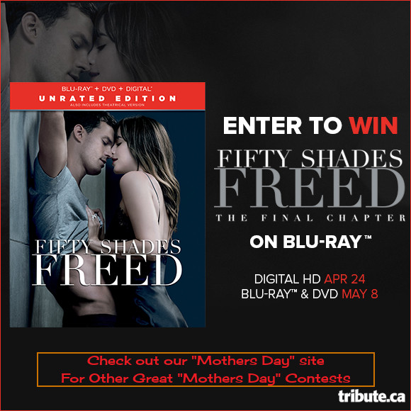 Fifty Shades Freed Blu-ray contest