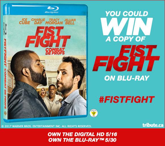 Fist Fight Blu-ray contest