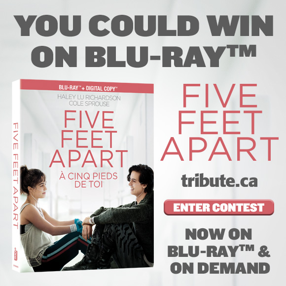 FIVE FEET APART Blu-ray contest