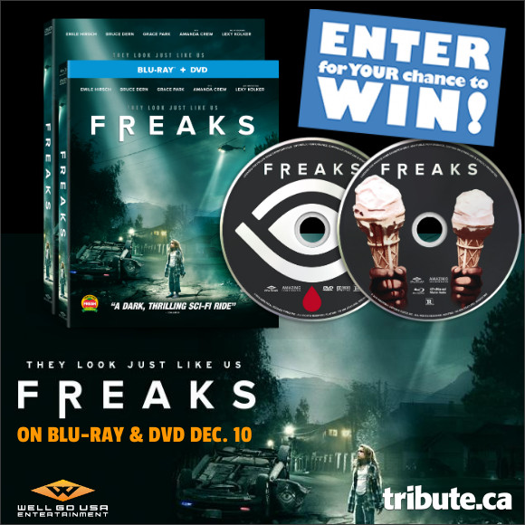 FREAKS Blu-ray contest