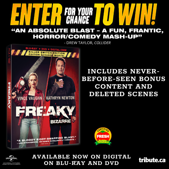 Enter for your chance to win Freaky on Blu-ray