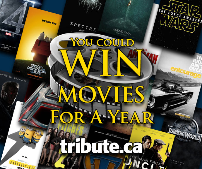 Free Movies For a Year contest