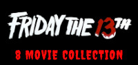 Friday the 13th 8 Movie Collection on Blu-ray