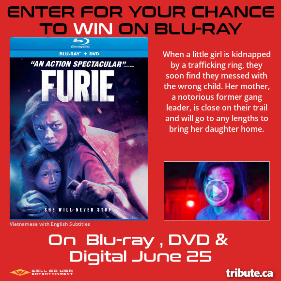 FURIE Blu-ray contest