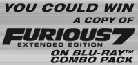 Enter to win a copy of Furious 7 on Blu-ray