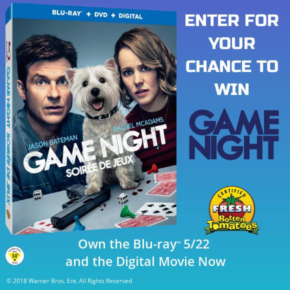 Game Night Blu-ray contest