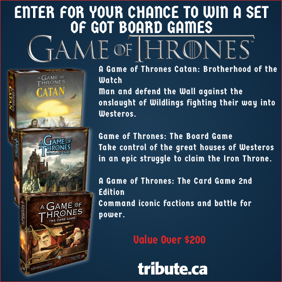 GAME OF THRONES Multiple Board Game contest