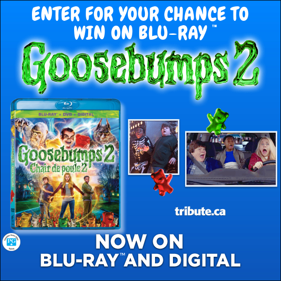 GOOSEBUMPS 2 Blu-ray contest