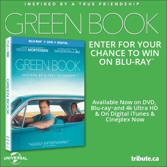GREEN BOOK Blu-ray contest