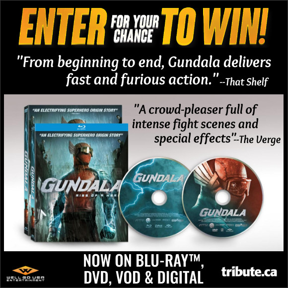 GUNDALA Blu-ray Contest