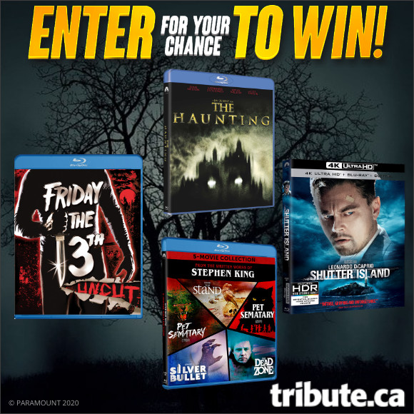 HALLOWEEN MOVIE PRIZE PACK Blu-ray Contest