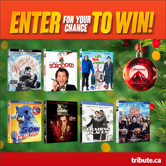 Enter for your chance to Win a Holiday Movie Prize Pack