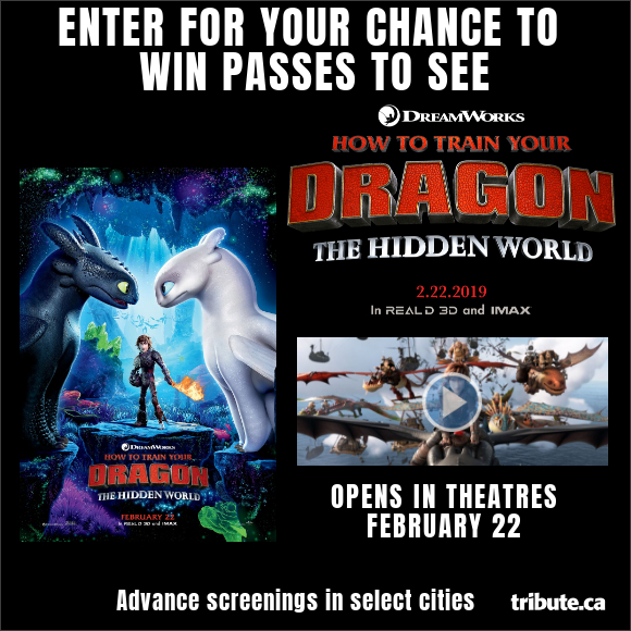 HOW TO TRAIN YOUR DRAGON: THE HIDDEN WORLD Pass contest