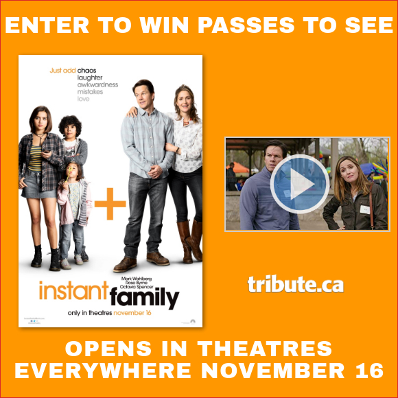 INSTANT FAMILY Pass contest