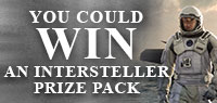 Enter for a chance to Win One of Five Interstellar Prize Packs, including Run of Engagement Passes and CD soundtrack