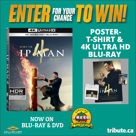 Enter for your chance to win IP MAN 4 THE FINALE Prize Pack including T-shirt, Poster & 4k ULTRA HD Blu-ray