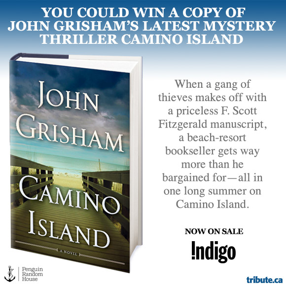 John Grisham's Camino Island contest